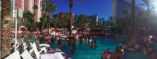 Las Vegas oli ihan käsittämätön paikka.